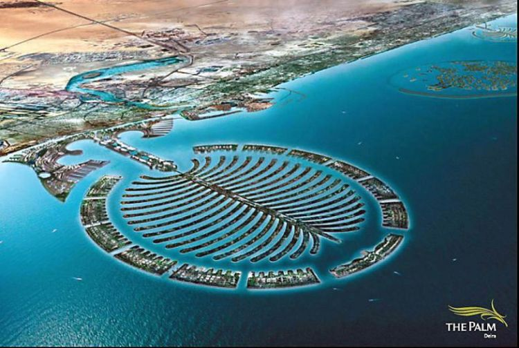 dubai map of the world islands. The World Islands consists of